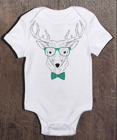 Hey, I found this really awesome Etsy listing at https://www.etsy.com/listing/230276574/hipster-reindeer-onesie-hipster-baby