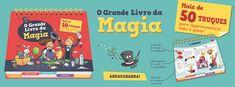 Sinfonia dos Livros: Novidade BookSmile | O Grande Livro da Magia - per...