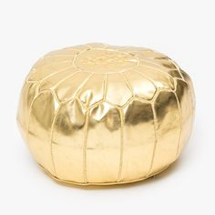 Explore a global marketplace of independent fashion, art and home decor brands. Grey Velvet Sofa, Moroccan Pouf, Room Goals, Modern Dining Table, Touch Of Gold, Metallic Gold, Party, Home Decor
