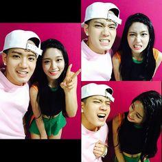 BTOB Peniel and Seolhyun