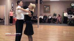 Arthur Murray South Jacksonville Fl dance instructors demonstrate Waltz