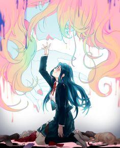 DanganRonpa V3:Killing Harmony - Shirogane Tsumugi and Junko Enoshima