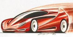 Ferrari, Design Department, Car Sketch, Concept Cars, Ceramic Art, Folk, Vehicles, Random Stuff, Drawing