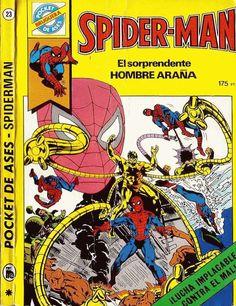Kiosko del Tiempo (@kioskodeltiempo)   Twitter Spiderman, Comic Books, Twitter, Cover, Trading Cards, Spider Man, Cartoons, Comics, Comic Book