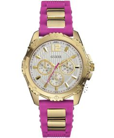 GUESS Intrepid 2 Pink Rubber Strap Μοντέλο: W0325L3 Η τιμή μας: 169€ http://www.oroloi.gr/product_info.php?products_id=39747