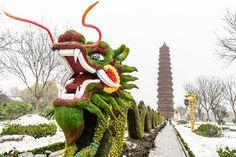 Iron Pagoda, Kaifeng, Henan China www.visithenan.org