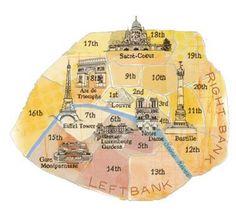 Paris in one day walking tour