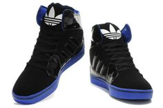 hightops | Adidas High Tops Black Blue [Adidas High Tops] - $82.00 : Justin ...