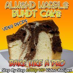 Coffee Cake Recipe Bundt, Marble Bundt Cake Recipe, My Recipes, Baking Recipes, Cake Recipes, Best French Fries, Best Food Ever, Food Photo, Food Videos