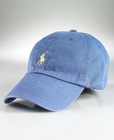 88a4d658fc11e sky blue Ralph Lauren Baseball Cap