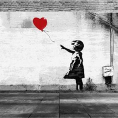 2016 New BANKSY Art Painting There Is Always Hope Oil Wall Painting Abstract Cheap Wall picture Art Decor On canvas Freeshipping