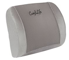 ComfiLife Lumbar Support Back Pillow Office Chair and Car Seat Cushion Back Support Pillow, Support Pillows, Back Pillow, Lumbar Pillow, Car Seat Cushion, Seat Cushions, Look Good Feel Good, Pillow Reviews, Gadgets And Gizmos