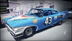 Nascar Cars, Nascar Racing, Auto Racing, Nascar Diecast, Rat Rods, Richard Petty, King Richard, Plymouth Fury, Automobile