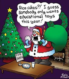 12 'Rice Cakes Boxed Christmas' Hilarious Greeting Cards x Inch, Merry Xmas Note Cards Featuring Funny Santa Comic with Diet Theme, Stationery w/Envelopes for Adults, Gifts, Parties Funny Christmas Pictures, Funny Christmas Cards, Noel Christmas, Christmas Greetings, Christmas Humor, Funny Pictures, Funny Holidays, Funny Christmas Jokes, Happy Holidays