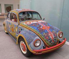 cubierta del auto tejido al crochet
