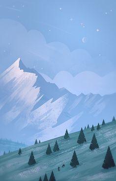 Montanhas montanhosas
