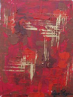 Fine Art Painting on Canvas panel  A Study II by OriginalArtbyJen