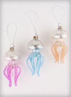 Jellyfish ornaments!!!!