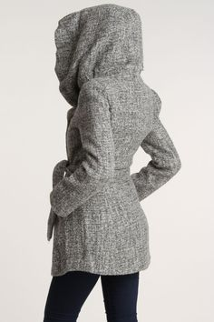Vertigo Rica Coat In Grey - Beyond the Rack