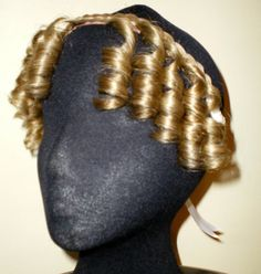 Regency Jane Austen Style Ringlets on Braided by Erahairpieces, £48.00 Want!