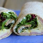 Ham and Egg Wrap with Herbs {easy lunch idea!} - Rachel Cooks
