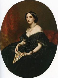 In the Swan's Shadow: Unidentified portrait, ca. 1850