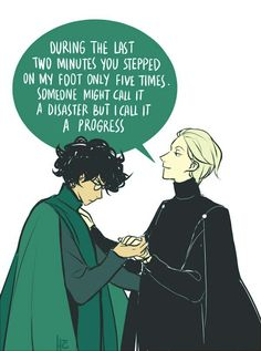 """[place for a desperate comment about me trying to escape drarry hell and failing miserably] about the pic: so jkr says that """"harry lost his ability to speak parseltongue, about which he was glad. Blaise Harry Potter, Harry Potter Comics, Draco Harry Potter, Harry Potter Ships, Harry Potter Universal, Harry Potter World, Draco Malfoy, Harry Draco, Hogwarts"""