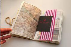 "Travel book, Paris 2010 | Page ""Hotel"" | Natalie Ratkovski | Flickr"