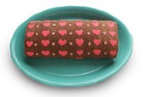 Dulce Delight: Heart patterned cake roll עם סרטון ועוד הרבה דוגמאות