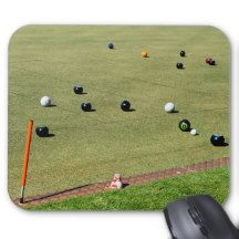 #lawnbowls game #mousepad