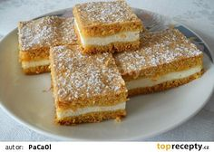 Cheesecake Recipes, Dessert Recipes, Desserts, Easy Chicken Recipes, Sweet Recipes, Chocolate Dome, Sweet Cooking, Czech Recipes, Sweet Tarts