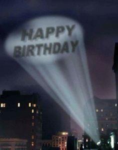 Holy birthday Batman!