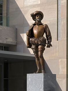 "Sir Walter Raleigh - Convention Center ... The ""Night Watch Man"""