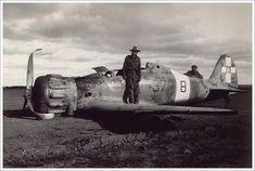 WW II Italian airplanes in Africa