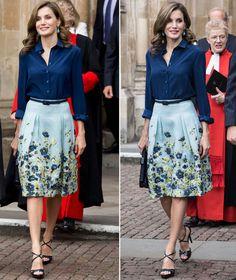Queen Letizia of Spain, 2017, Westminster