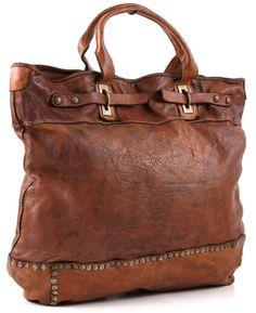 Campomaggi Tote leather 40 cm - C1185VL | Designer Brands :: wardow.com