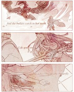 Found this on Tumblr by Rynnae. This is so beautiful! Part 4 #paradise #FireEmblemAwakening