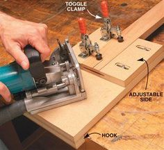 AW Extra - Plate Joiner Tips and Techniques - Popular Woodworking Magazine Woodworking Jointer, Woodworking Hand Tools, Woodworking Store, Woodworking Magazine, Woodworking Workshop, Popular Woodworking, Woodworking Techniques, Woodworking Videos, Woodworking Plans