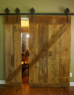 old wood sliding doors - Google Search