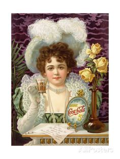 1890s USA Coca-Cola Magazine Advertisement Prints at AllPosters.com