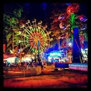 Carnival at night. Thanks, Jamie Delgado, for sharing the photo! Fair Rides, Grass Valley, Nevada City, Carnival Rides, Northern California, Carnivals, Things To Do, Fair Grounds, Amusement Parks