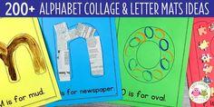 list of materials to use for alphabet activities Alphabet Activities Kindergarten, Preschool Letters, Letter Activities, Activities For Kids, Insect Activities, Preschool Themes, Motor Activities, Preschool Classroom, All About Me Preschool
