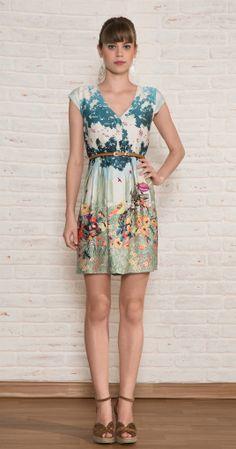 Vestido Curto Picnic | Vestuário | Antix Store