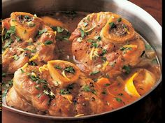 "<em>Editor's Note: Osso buco is Italian for ""bone with a hole,"" referencing the marrow hole seen in the bone of a veal shank. This traditional Italian recipe, Osso Buco alla Milanese, is a delicious braised veal dish served with tender vegetables and garlicky gremolata. While it seems complicated, this osso buco recipe is surprisingly easy - and so delicious you'll be making it again and again.</em><br /> <br /> Classic osso buco alla ..."