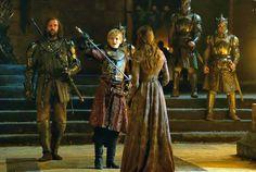 Sandor, Joffrey, Sansa