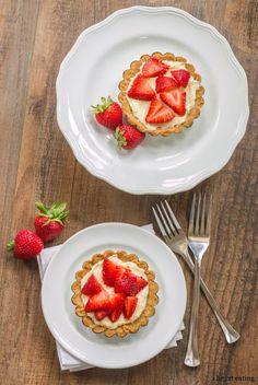 Strawberry Cream Cheese Tart full