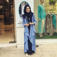 Hijab Fashion 2016/2017: I love her style! Hulya aslan