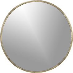 "Tork Brass Dripping Mirror, $249.00, dimensions: 30""dia.x1""D 