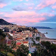 Adult Jigsaw Puzzle Amalfi Coast Positano Sorrento Bay Naples Peninsula Italy 500-Pieces