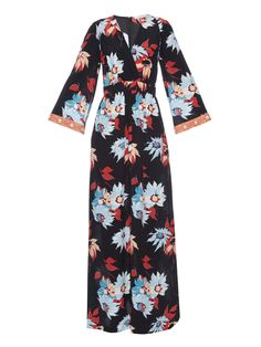 Floral-print silk-crepe maxi dress by Etro | Shop now at #MATCHESFASHION.COM